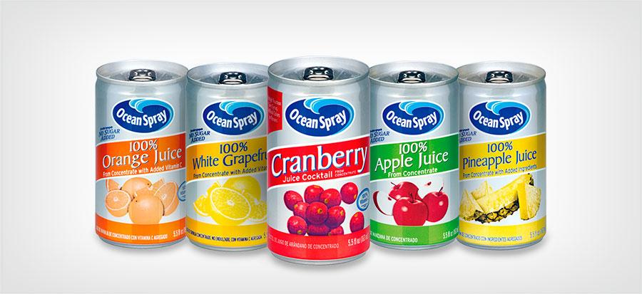 Bebidas de jugo de 163ml